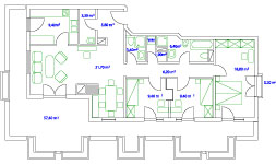 PLAN PENTHOUSE / TERRACE - 115+55 qm